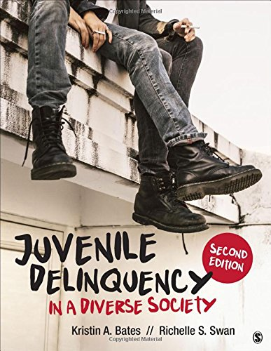 Juvenile Delinquency in a Diverse Society  2nd 2018 (Student Manual, Study Guide, etc.) 9781506347493 Front Cover