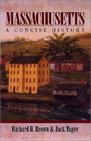 Massachusetts A Concise History  2000 edition cover