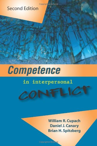Competence in Interpersonal Conflict  2nd edition cover