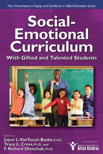 Social-Emotional Curriculum with Gifted and Talented Students   2008 edition cover