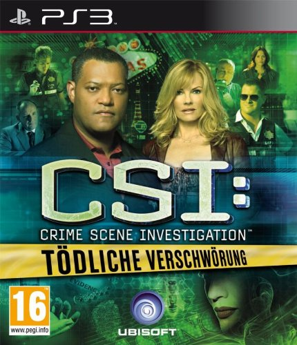 Csi 6 - Tödliche Verschwörung [AT PEGI] PlayStation 3 artwork