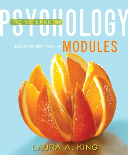 Science of Psychology Modules 2nd 2012 edition cover
