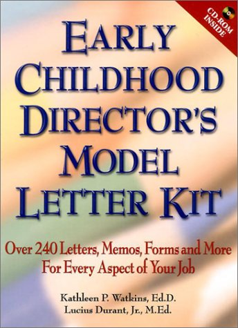 Early Childhood Director's Model Letter Kit  2002 edition cover