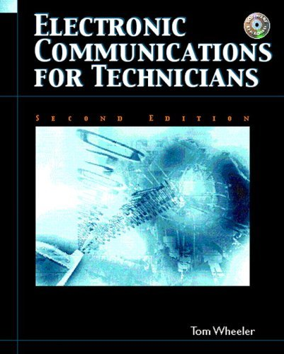 Electronic Communications for Technicians  2nd 2006 edition cover