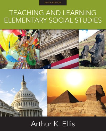 Teaching and Learning Elementary Social Studies  9th 2011 edition cover
