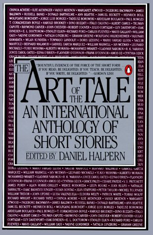 Art of the Tale An International Anthology of Short Stories, 1945-1985 N/A edition cover