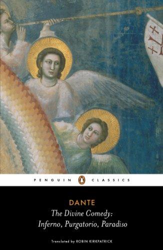Divine Comedy Inferno, Purgatorio, Paradiso  2012 edition cover