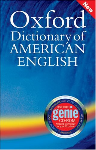 Oxford Dictionary of American English   2005 9780194399494 Front Cover