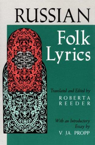 Russian Folk Lyrics  N/A edition cover
