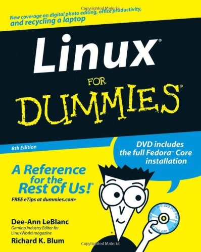 Linux for Dummies  8th 2007 (Revised) 9780470116494 Front Cover