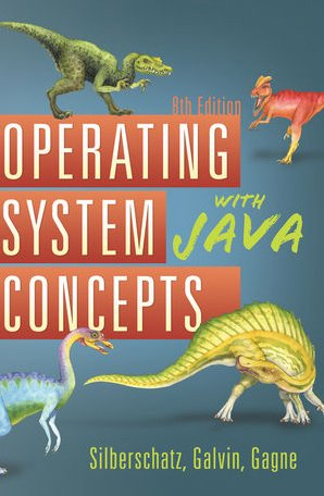 Operating System Concepts with Java  8th 2010 edition cover