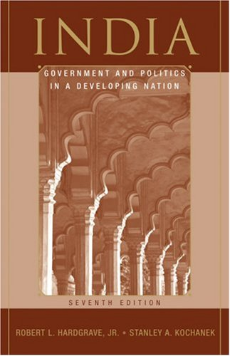 India Government and Politics in a Developing Nation 7th 2008 (Revised) edition cover