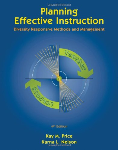 Planning Effective Instruction Diversity Responsive Methods and Management 4th 2011 edition cover