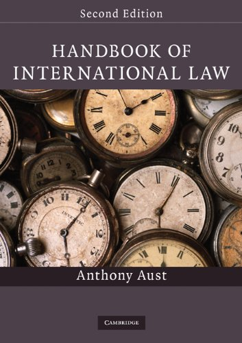 Handbook of International Law  2nd 2010 (Revised) edition cover