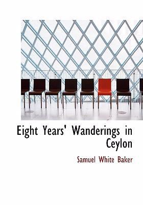 Eight Years' Wanderings in Ceylon  2008 edition cover