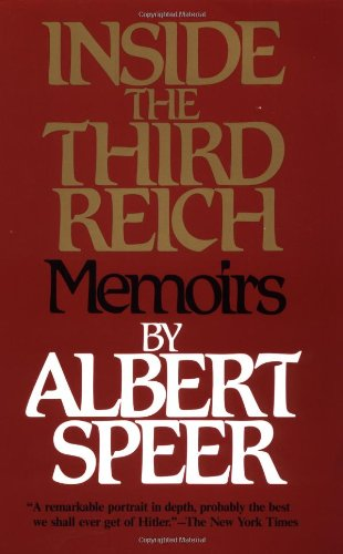 Inside the Third Reich   1997 edition cover