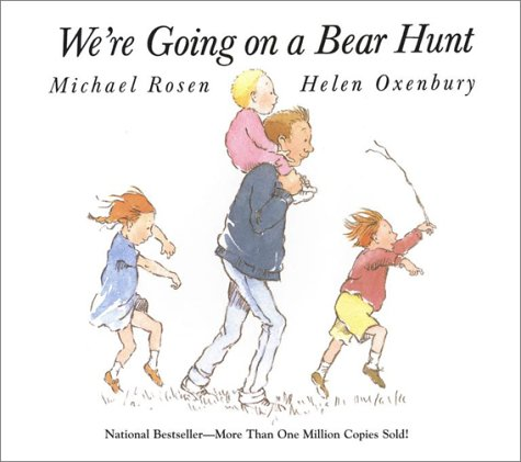 We're Going on a Bear Hunt   1989 edition cover
