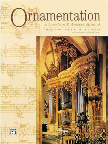 Ornamentation A Question and Answer Manual  1995 edition cover