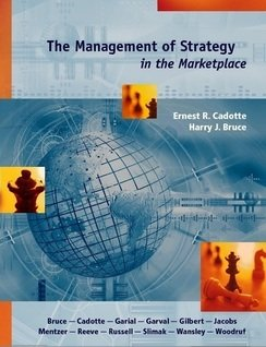 Management of Strategy in the Marketplace   2007 edition cover