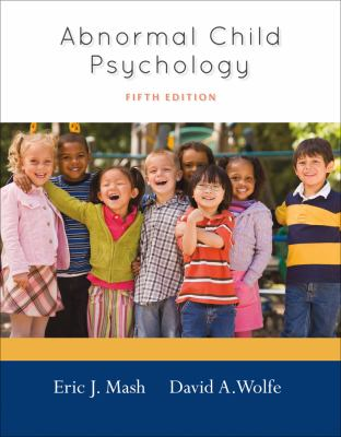 Abnormal Child Psychology  5th 2013 edition cover