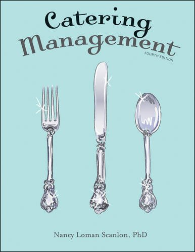 Catering Management  4th 2013 edition cover