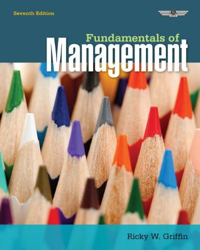 Fundamentals of Management  7th 2014 edition cover