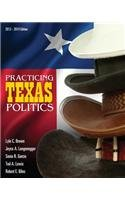 Practicing Texas Politics (with CourseReader 0-30: Texas Politics Printed Access Card)  15th 2014 edition cover