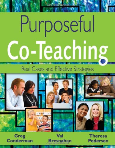 Purposeful Co-Teaching Real Cases and Effective Strategies  2009 edition cover