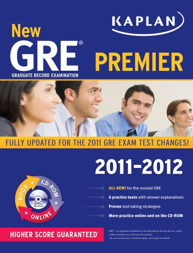 New GRE 2011-2012 Premier  N/A edition cover