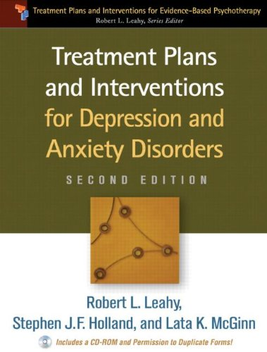 Treatment Plans and Interventions for Depression and Anxiety Disorders  2nd 2012 (Revised) edition cover