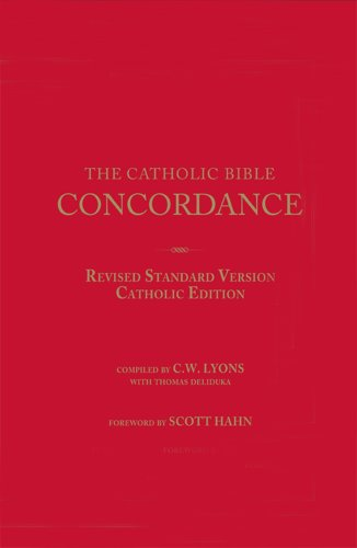 Catholic Bible Concordance Revised Standard Version, Catholic Edition  2009 edition cover