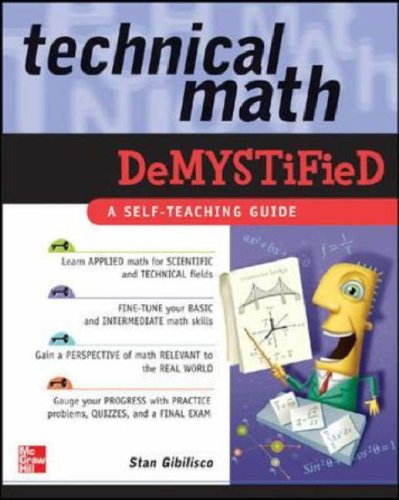 Technical Math Demystified   2006 9780071459495 Front Cover