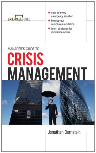 Manager's Guide to Crisis Management   2012 edition cover