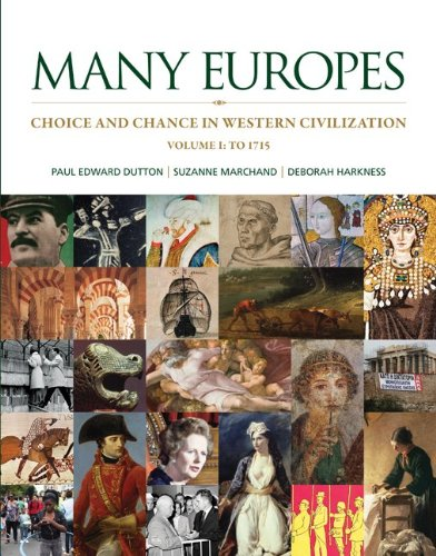 Many Europes Choice and Chance in Western Civilization - To 1715  2014 edition cover
