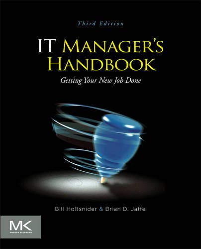 IT Manager's Handbook Getting Your New Job Done 3rd 2012 edition cover