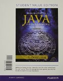 Intro to Java Programming: Student Value Edition  2014 edition cover