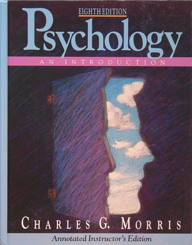 Psychology An Introduction (TE)  1993 9780137355495 Front Cover