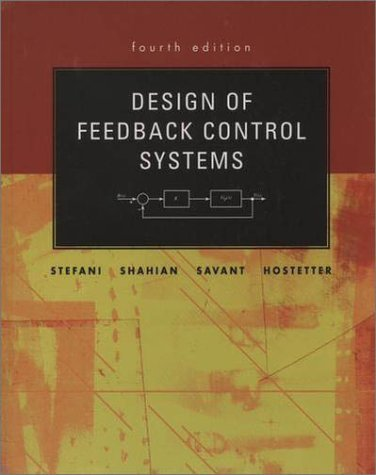 Design of Feedback Control Systems  4th 2002 (Revised) edition cover