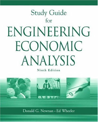Engineering Economic Analysis: Student's Quick Study Guide 9th 2004 edition cover