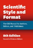 Scientific Style and Format The CSE Manual for Authors, Editors, and Publishers, Eighth Edition 8th 2014 edition cover