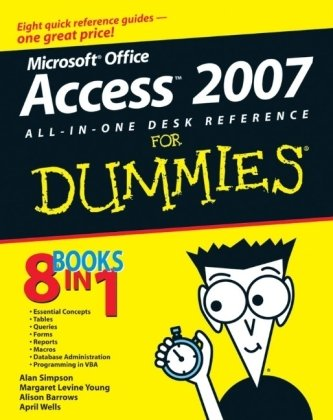 Microsoft Office Access 2007 All-in-One Desk Reference for Dummies�   2006 edition cover