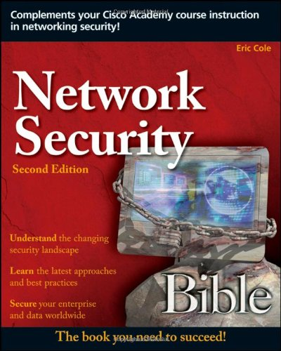 Network Security  2nd 2009 9780470502495 Front Cover