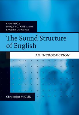 Sound Structure of English An Introduction  2009 9780521615495 Front Cover