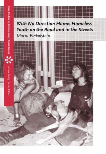 With No Direction Home Homeless Youth on the Road and in the Streets  2005 edition cover