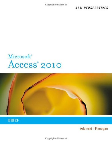 Microsoft� Office Access 2010   2011 (Brief Edition) edition cover