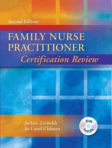 Family Nurse Practitioner Certification Review  2nd 2004 (Revised) edition cover