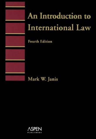 Introduction to International Law  4th 2003 (Student Manual, Study Guide, etc.) 9780735526495 Front Cover