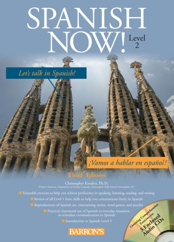 Spanish Now  3rd 2009 (Revised) edition cover