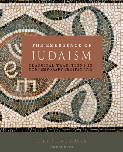 Emergence of Judaism Classical Traditions in Contemporary Perspective  2010 edition cover