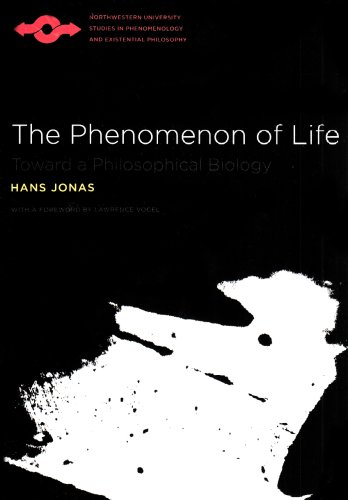Phenomenon of Life Toward a Philosophical Biology  2001 edition cover